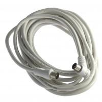 Cablu RF 5m alb