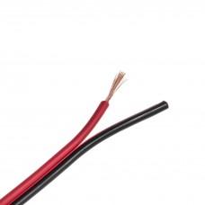 Cablu bifilar roșu-negru 2*0,5