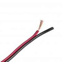 Cablu bifilar roșu-negru 2*0,75