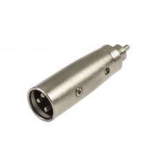 Adaptor RCA tată-XLR tată