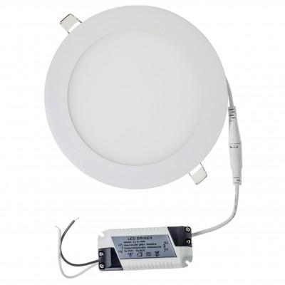 Plafonieră LED 12W rotund