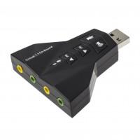 Placă sunet USB cu 2 ieșiri