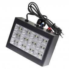Stroboscop alb 12 LED