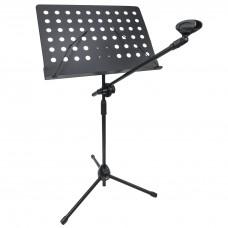 Suport partitură și microfon