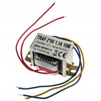 Transformator rețea 2*9V 1,1A 10W