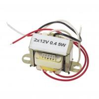 Transformator rețea 2*12V 0,4A 5W