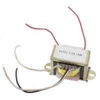 Transformator rețea 2*12V 1,3A 15W