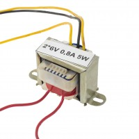 Transformator rețea 2*6V 0,8A 5W