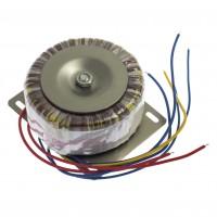 Transformator toroidal 100W-2x22V+6V